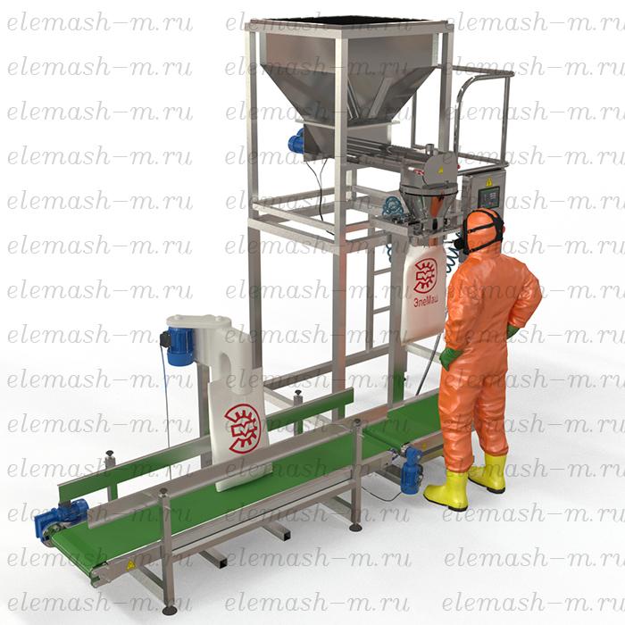 Semi-automatic dosing line DPL-50SHN