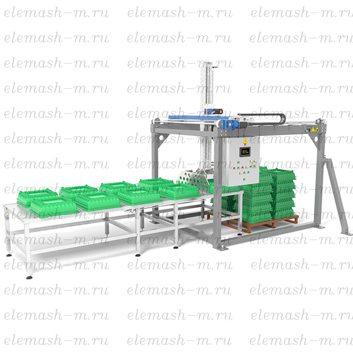 Automatic trays palletizer PLA-1400/40