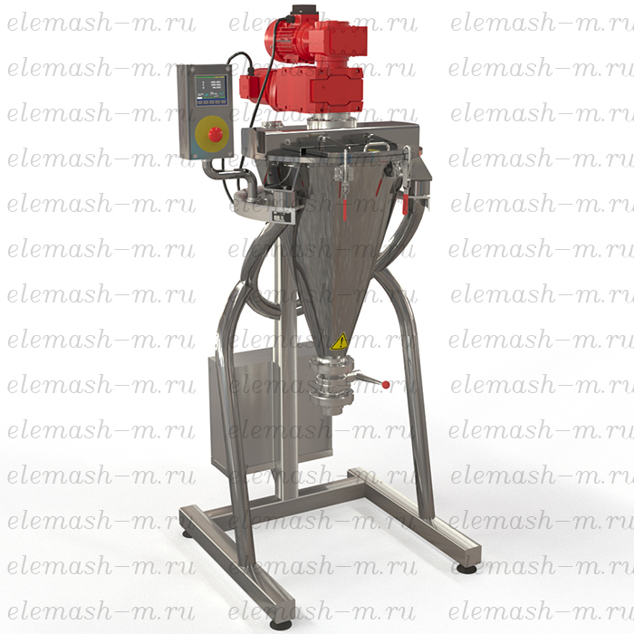 SKP series vertical conical mixer with planetary auger