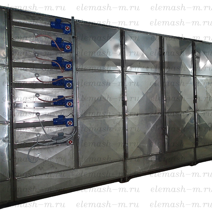 Modular belt type drying machine, series SLM