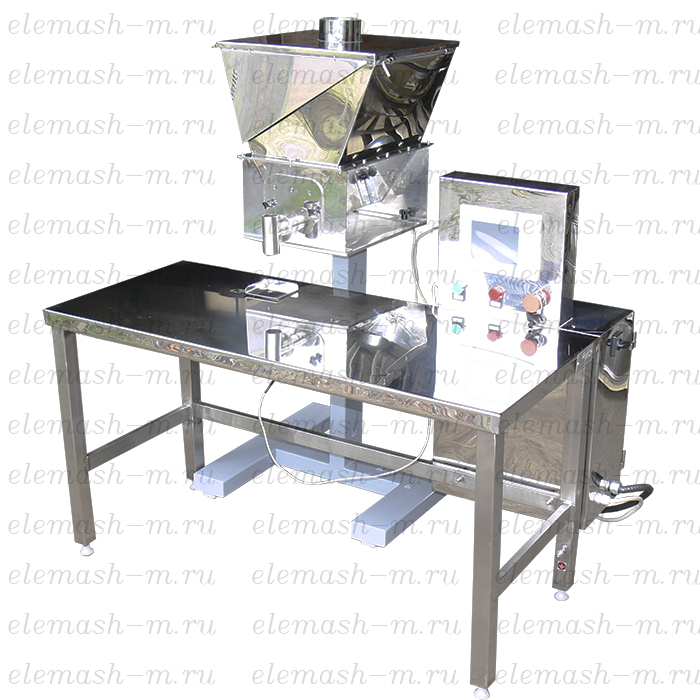 Semi-automatic screw type filling machine DSH2-1