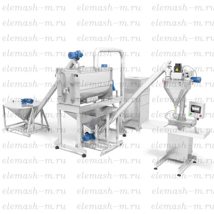 Semi-automatic screw weigher DSH
