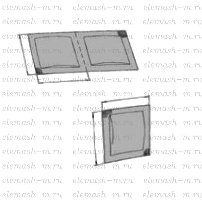 Horizontal packaging machine ELEMA-300