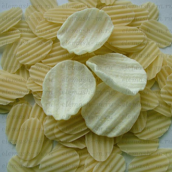 Chips (snacks) pellet frying line