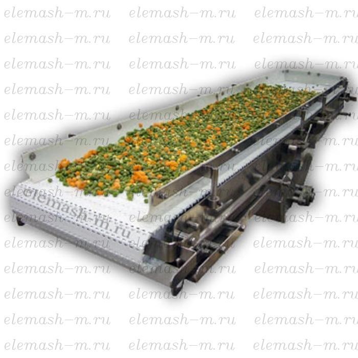 Belt feeder for frozen berries