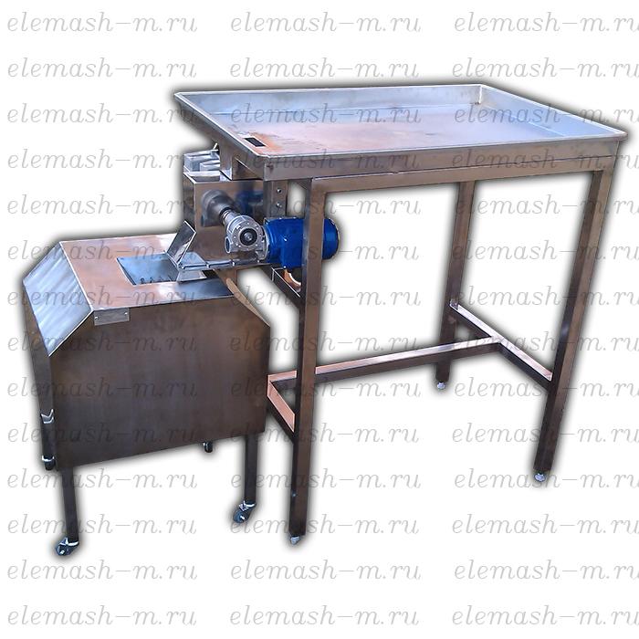 Dry fruit cutting machine MRSU (apricots, peaches, mango)