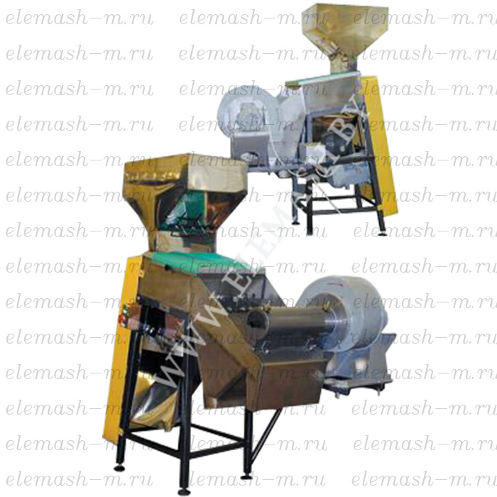 Groundnut husk peeling machine MUS-100SSH