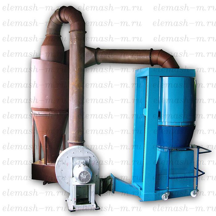Drying and roasting machine TURBO