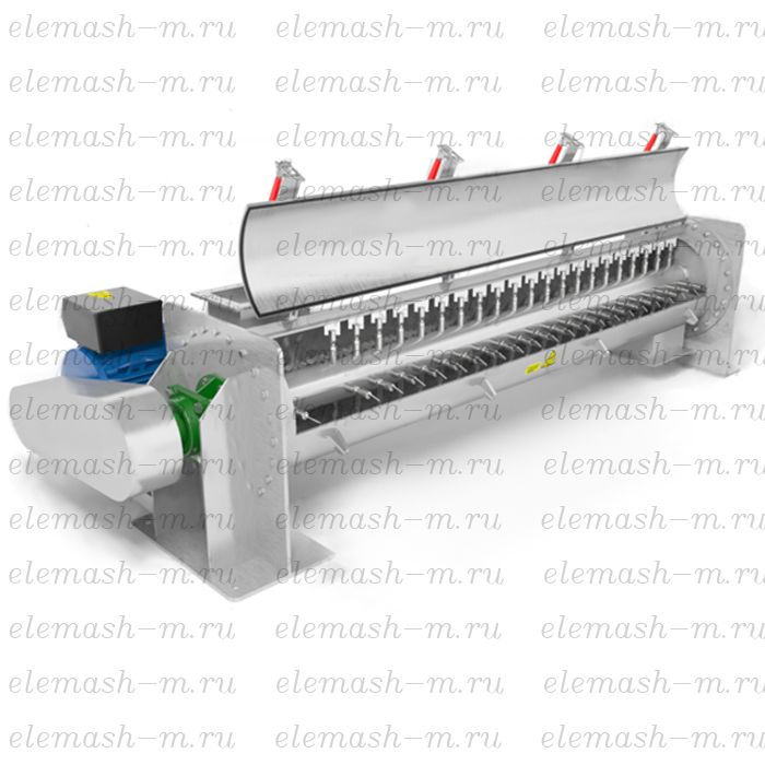 Horizontal screw mixer SGSHP