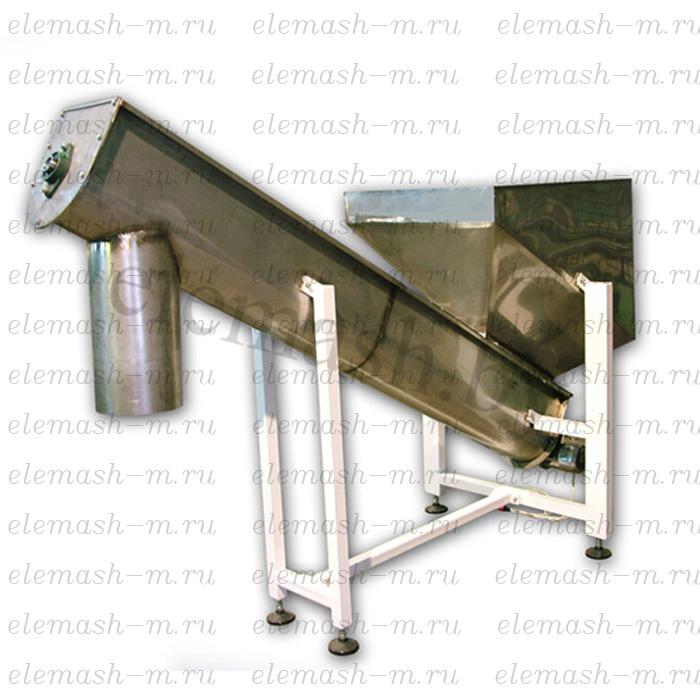 Continuous screw mixer (to 2000 kg/h)