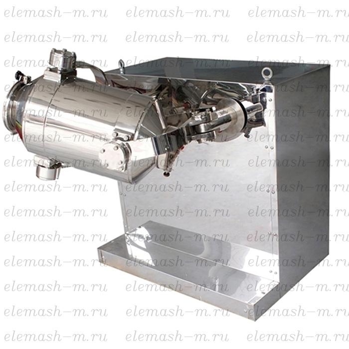 Three-dimensional mixing machine, series SMT