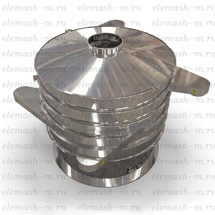 Flour, grain, sugar vibration sifting machine, serie UP-40