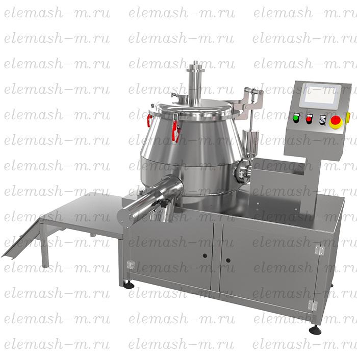 High sped granulator mixer, series SGV (SGPN)