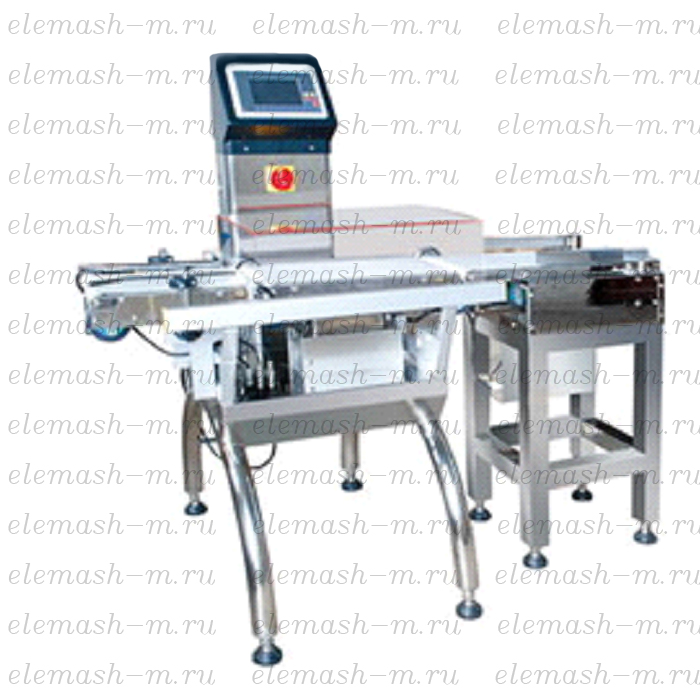Automatic dynamic weighing system