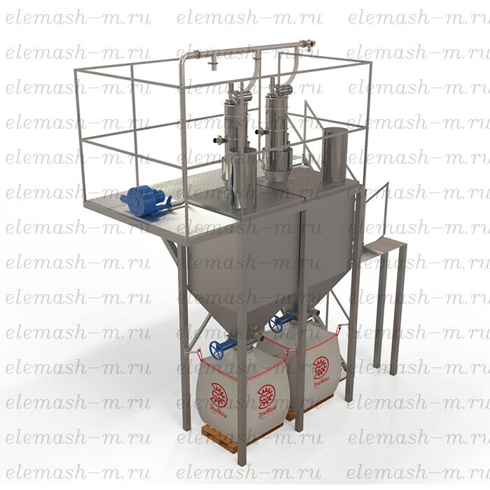Silo storage tanks with vacuum feeding system