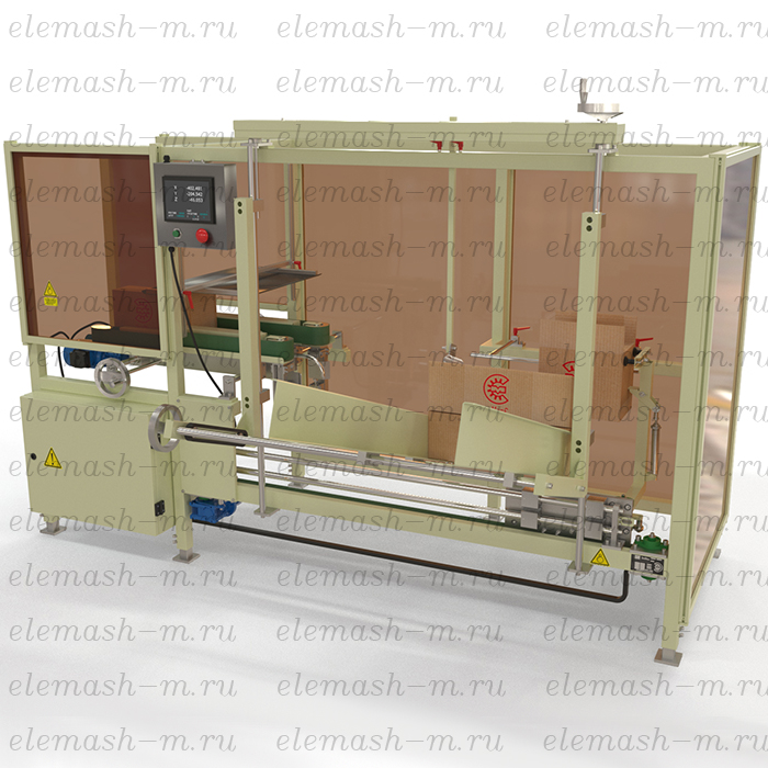 Corrugated box automatic forming line