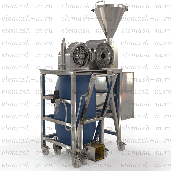 Pharmaceutical grinding mill, series MUK (according to GMP standard)