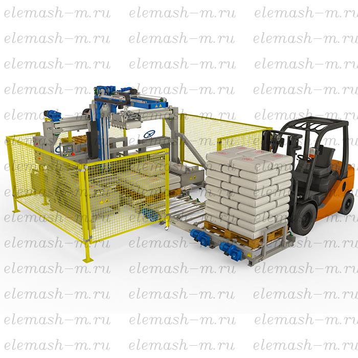 Automatic bags palletizer PMA-1800/50