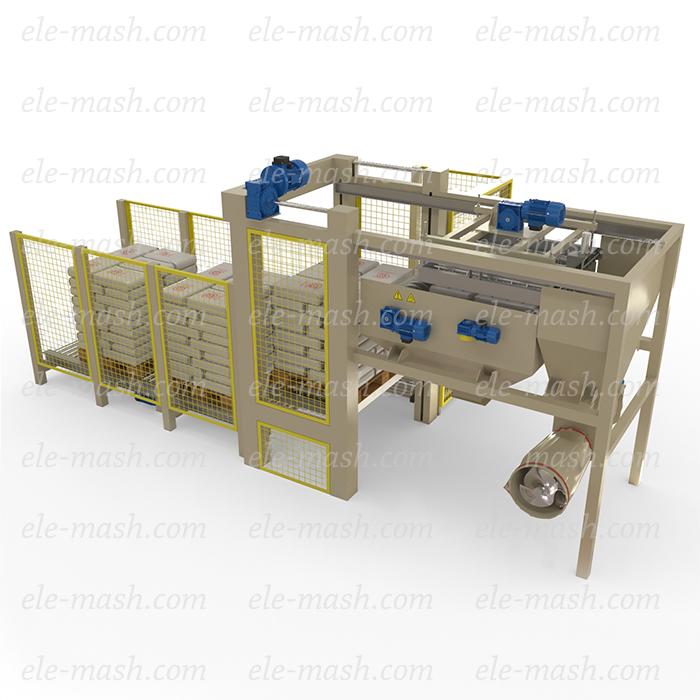 Automatic layer depalletizer TM-4/1800