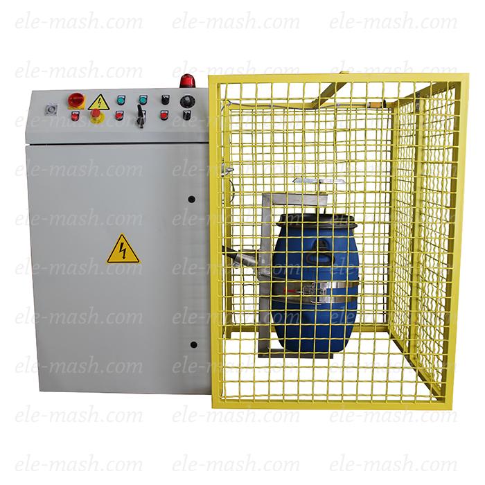 Three dimensional mixing machine SM, «drunk barrel»