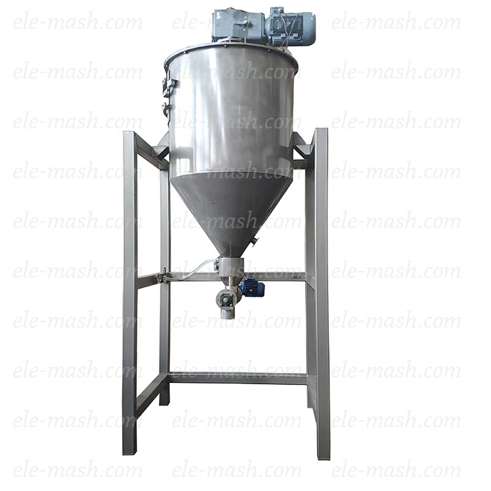 Conical mixing machine, series SK