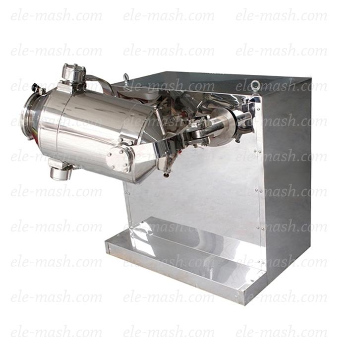 Three-dimensional mixing machine, series SMT