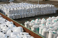 Packaging fertilizer