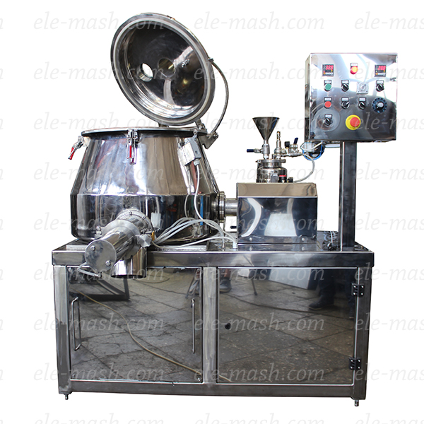 Rapid granulator mixer, series SGV (SGPN)